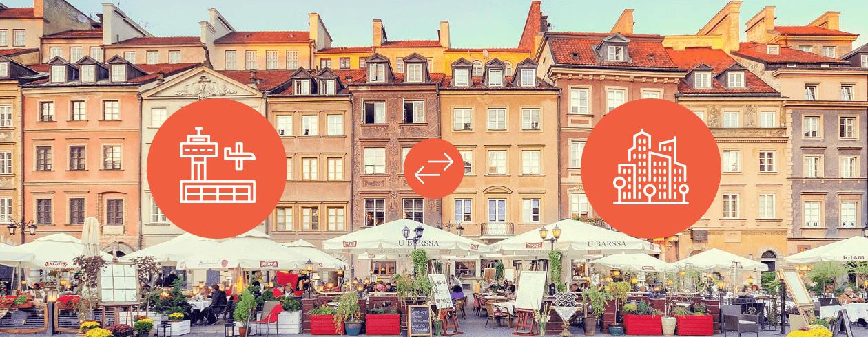 Warschau Stadtbild