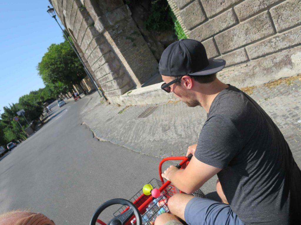 Gokart fahren in Rom