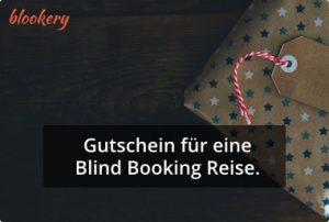 Blind Booking Gutschein Geschenk