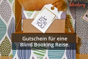 Blind Booking Gutschein Just for you