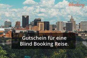 Blind Booking Gutschein Städtereise