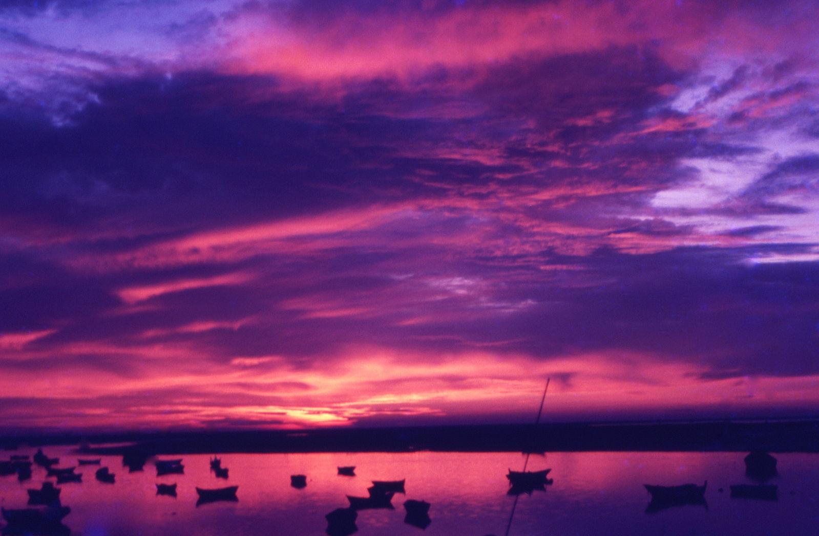 Sonnenuntergang Kurztrip Faro
