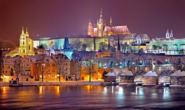 Silvester Prag Europa Neujahr